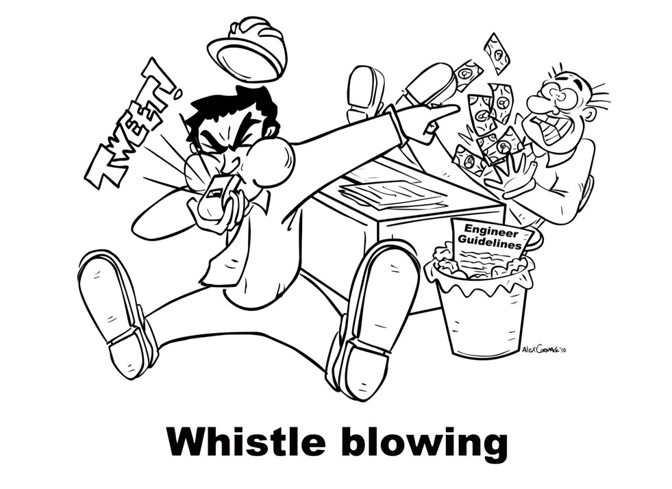 Whistle-blowing