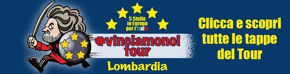 "Europee. ""#VinciamoNoiTour"": oltre 80 tappe in Lombardia"