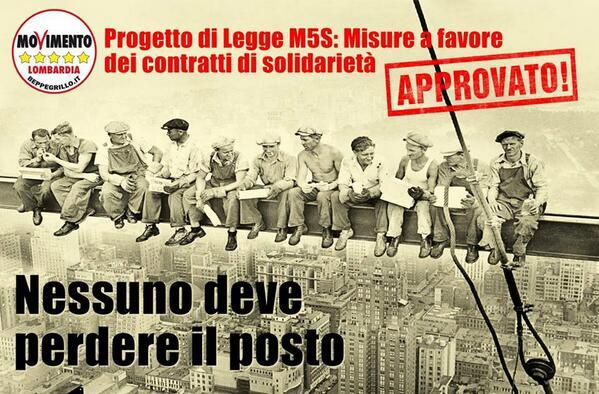 Lombardia, approvata la legge a 5 stelle a supporto dei lavoratori e delle PMI