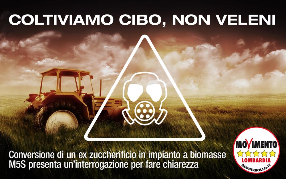 Chiarezza sulla trasformazione dell'ex-zuccherificio di Casei Gerola (PV) in impianto a biomasse