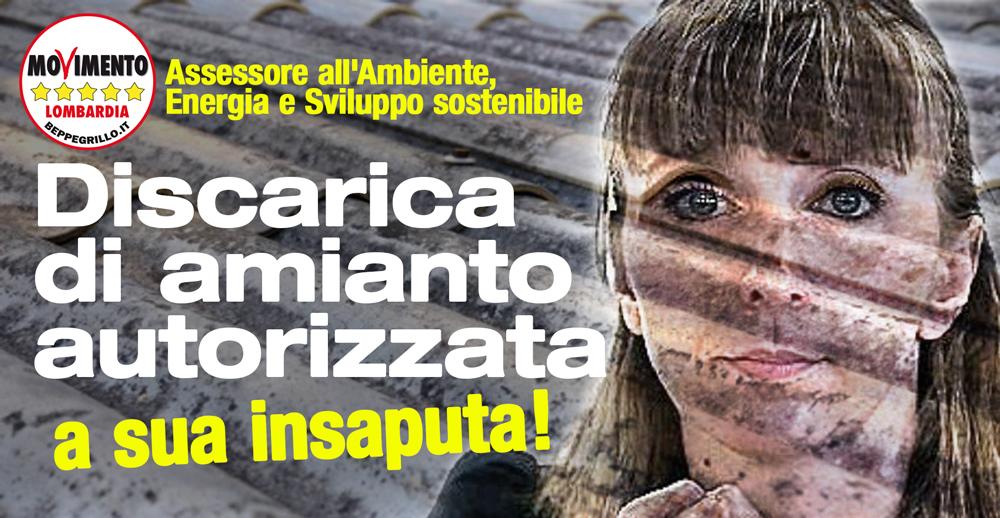 Discarica di amianto a Ferrera Erbognone (PV): l'assessore approva a sua insaputa