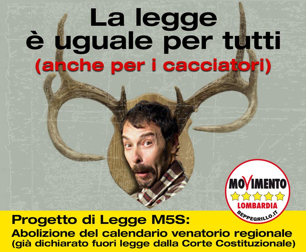 Calendario Venatorio Lombardia.Proposta Di Legge Per L Abolizione Del Calendario Venatorio