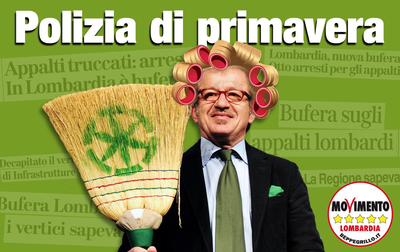 """""""Polizia di primavera"""" in Regione Lombardia: presidio domattina"""