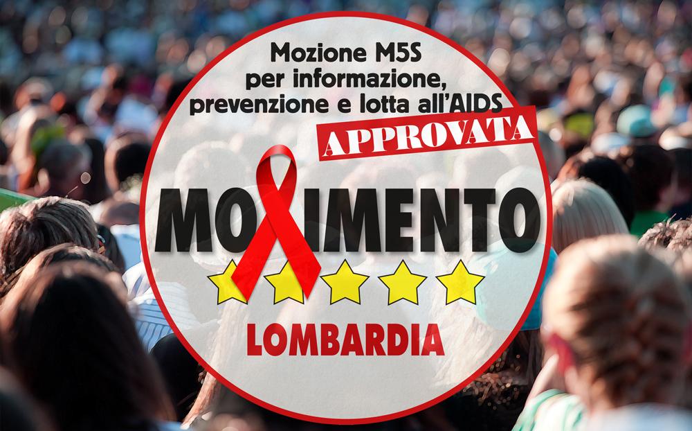 Prevenzione Hiv Aids, il consiglio regionale approva la mozione di M5S