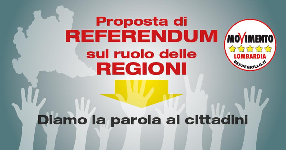 Riforme, un referendum per dare la parola ai cittadini