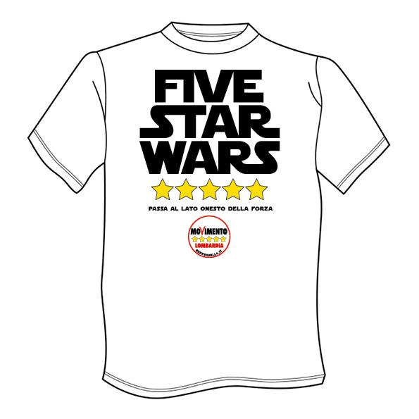 Le magliette M5S
