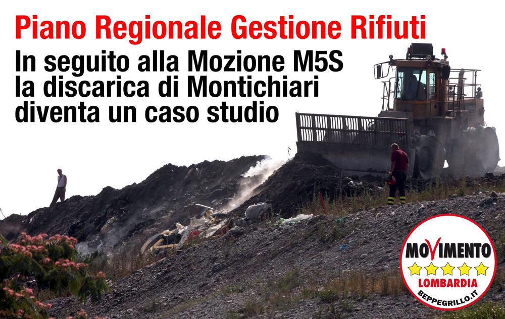 Montichiari. Piano rifiuti: accolte le sollecitazioni di M5S Lombardia
