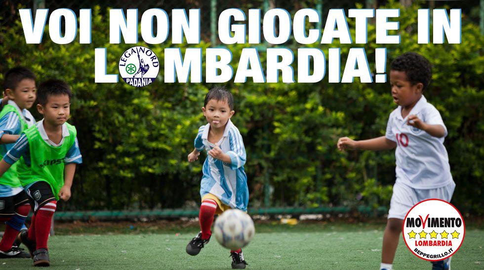 Lo zampino della Lega sullo sport: aiuti solo ai Lombardi doc