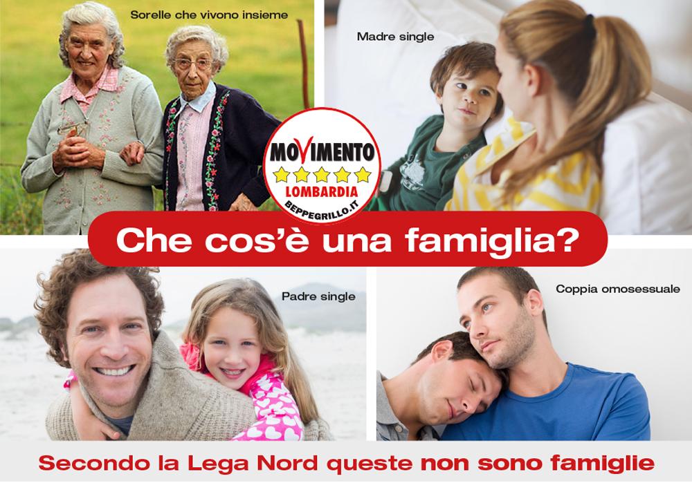 Tutte le famiglie meritano tutela. Anche Salvini e Berlusconi sono in coppie di fatto