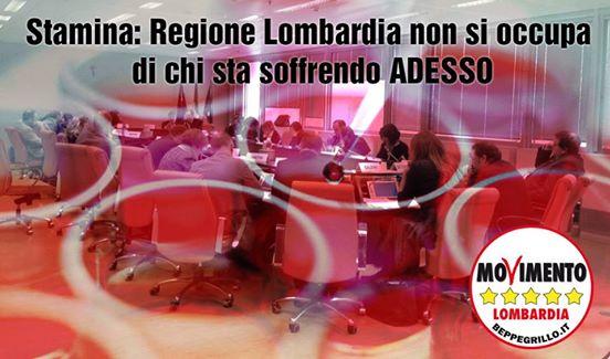 Stamina: Regione Lombardia perde un'altra occasione per stare dalla parte dei pazienti