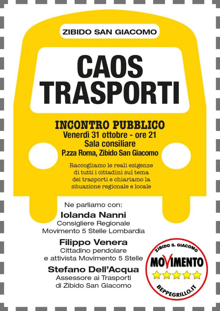 trasporto evento