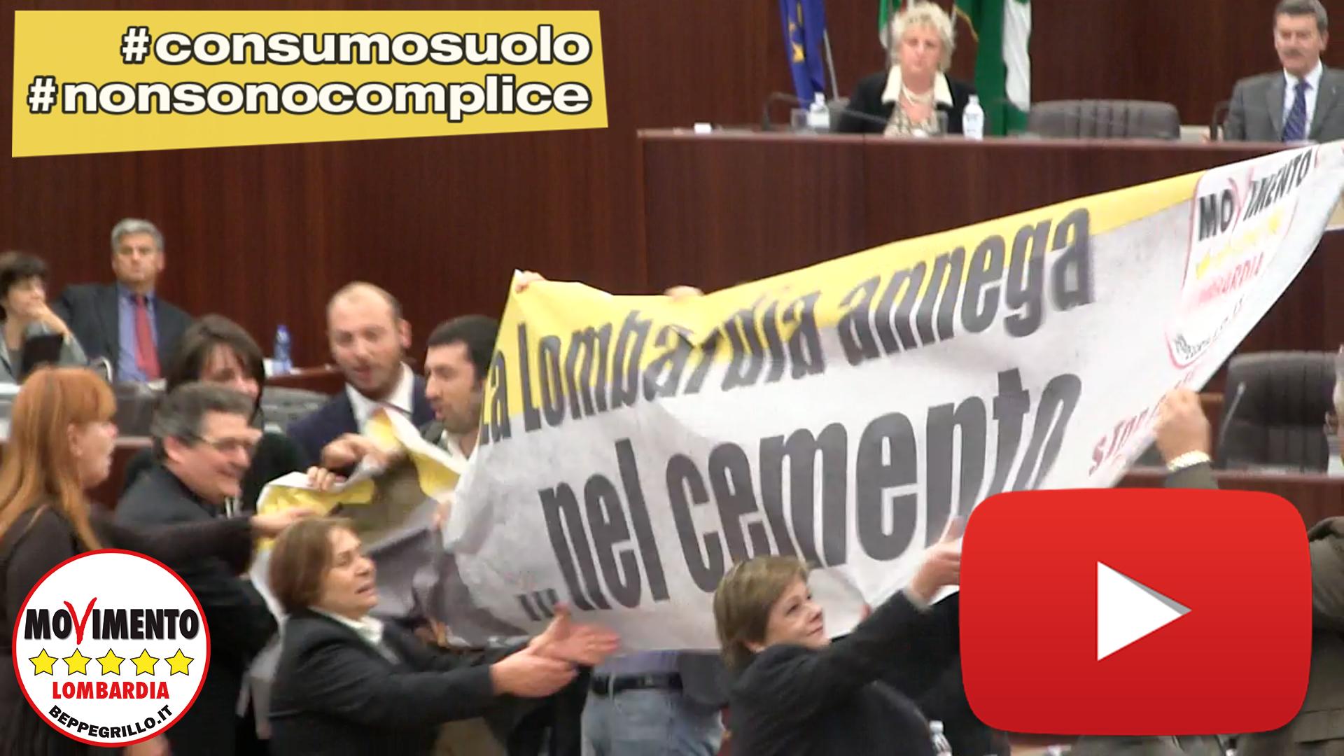 La Lombardia annega nel cemento: #nonsonocomplice