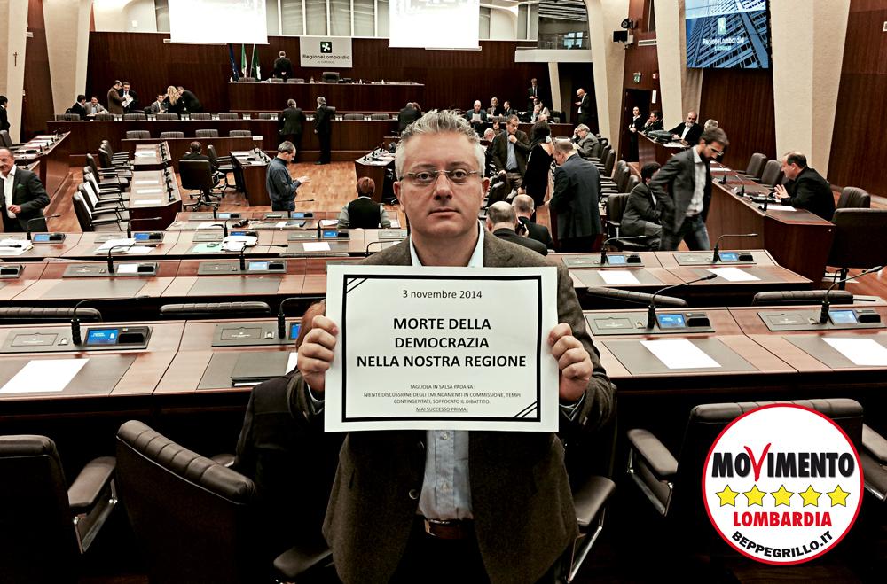 Tagliola in salsa padana: morte della democrazia in Lombardia