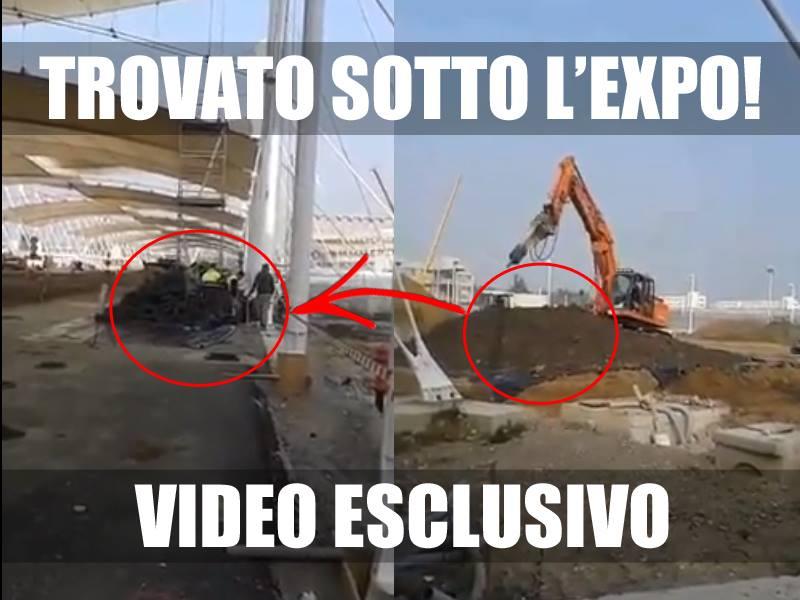 I copertoni sotto l'Expo – VIDEO ESCLUSIVO