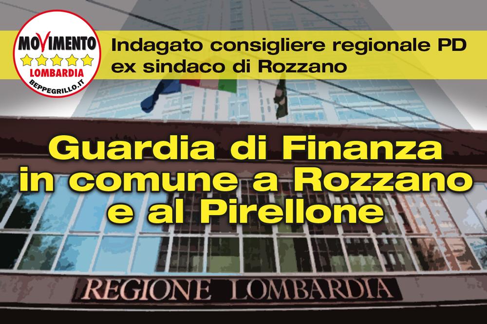 Guardia di finanza in Regione: indagato consigliere regionale del PD