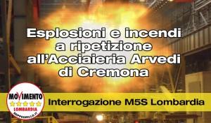 ITR Arvedi esplosioni 3-11-14