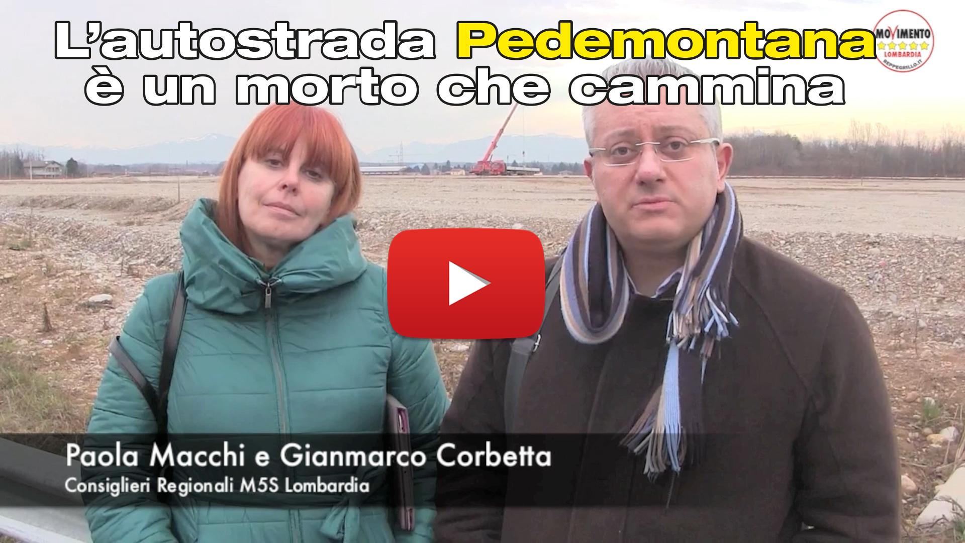 Pedemontana è un morto che cammina. Maroni la finisca con il monoteismo autostradale