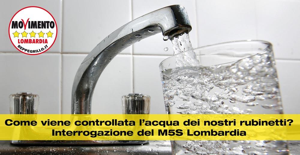 Come viene controllata l'acqua dei nostri rubinetti? Interrogazione M5S