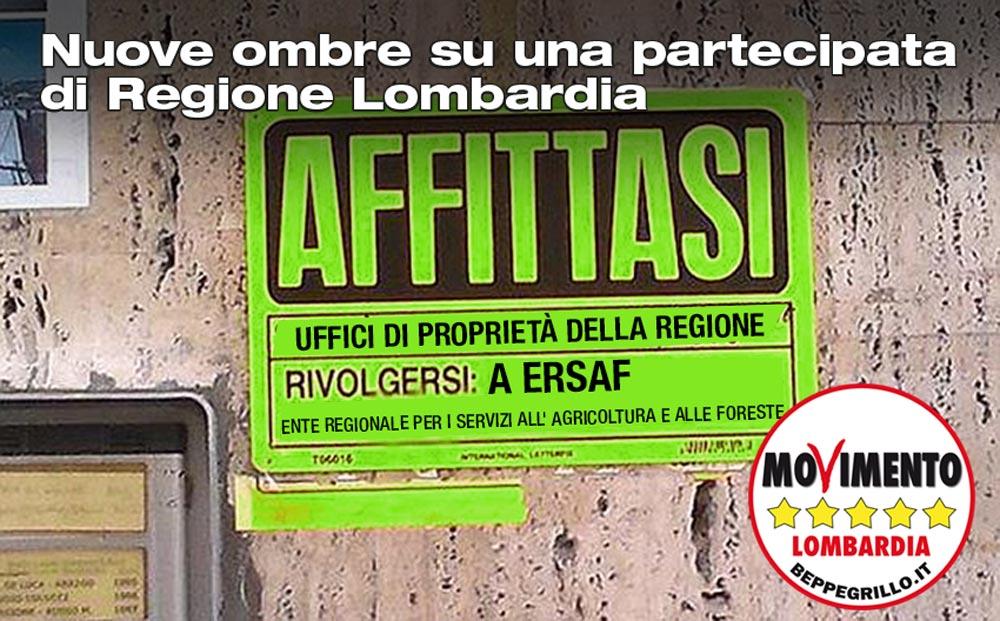 Ersaf, ancora ombre su una partecipata di Regione Lombardia