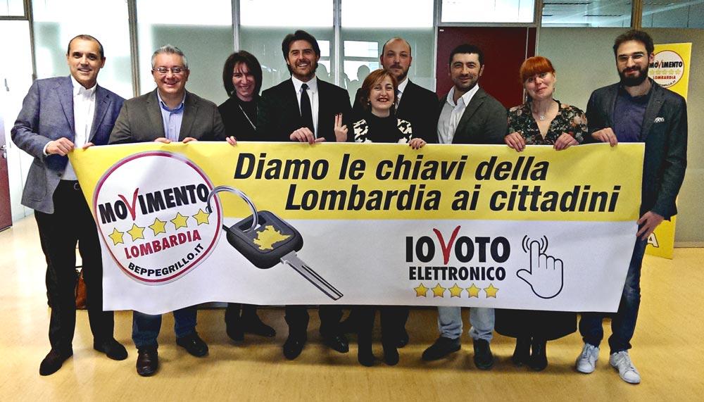 Vittoria M5S: voto elettronico e referendum per dare più risorse alla Lombardia