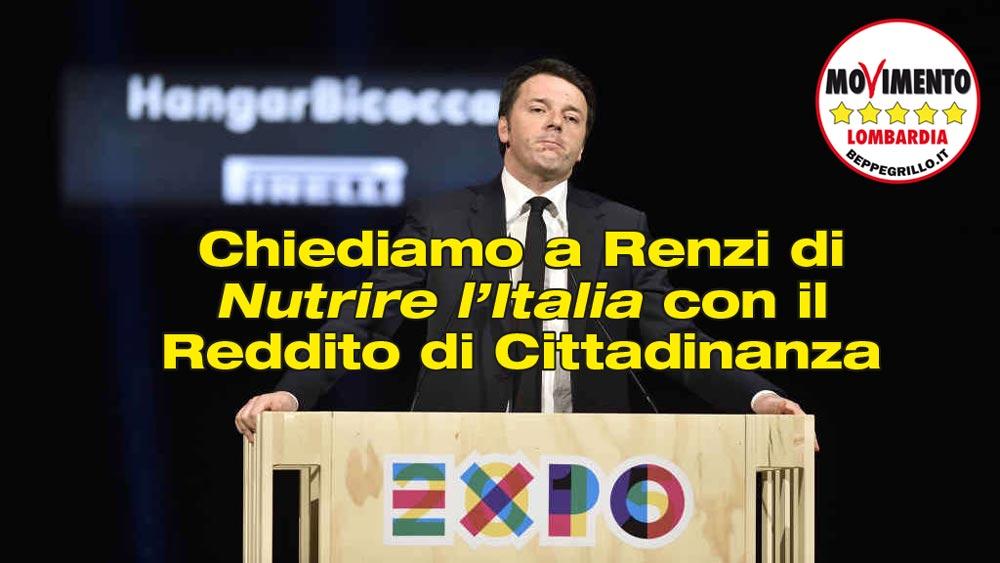 Nutriamo l'Italia con il reddito di cittadinanza!