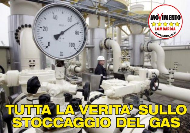 Stoccaggio gas in Lombardia: tutta la verità