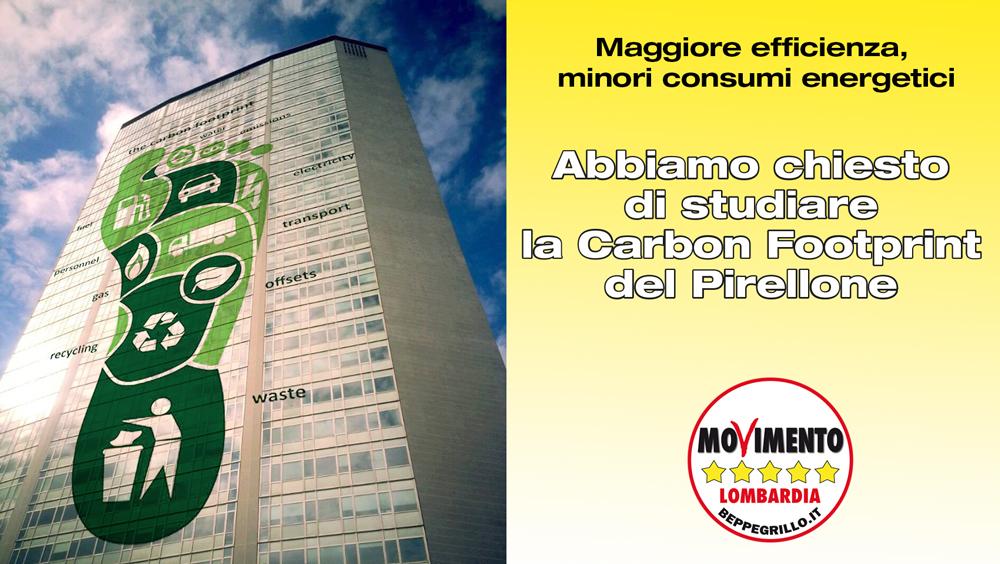 Carbon Footprint per Palazzo Pirelli