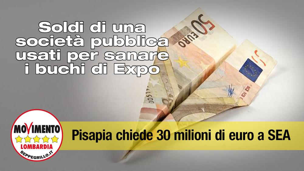 Altri 30 milioni dalla Sea al Comune di Milano per i buchi dell'Expo
