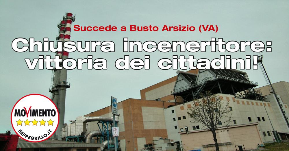 Stop all'inceneritore di Busto Arsizio: hanno vinto i cittadini
