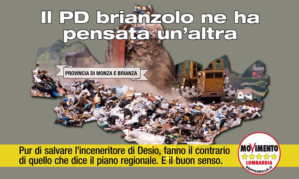 No al carrozzone politico per i rifiuti della provincia di Monza e Brianza