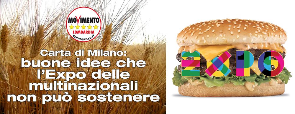 Carta di Milano, la logica di Expo è distante dalla sostenibilità alimentare