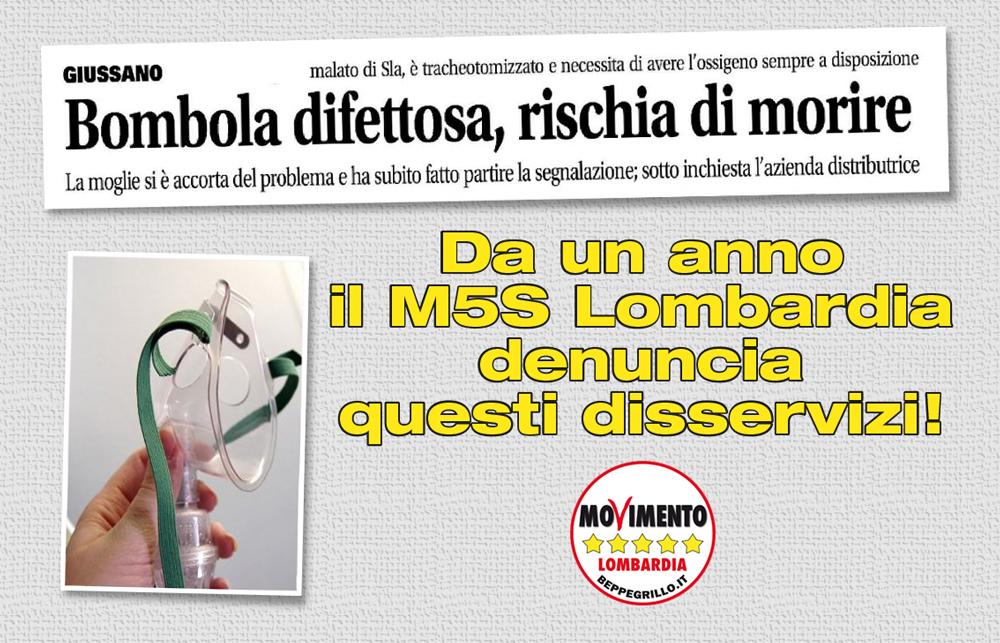 Monza. Bombole di ossigeno difettose: ASL intervenga