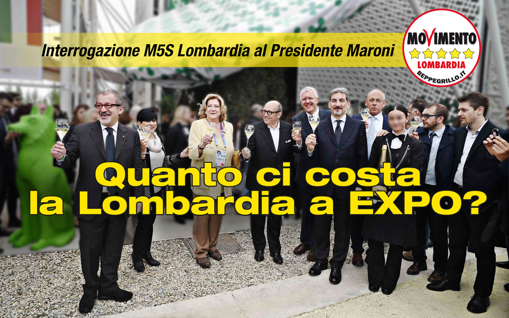 Expo quanto ci costi? Interrogazione del M5S Lombardia