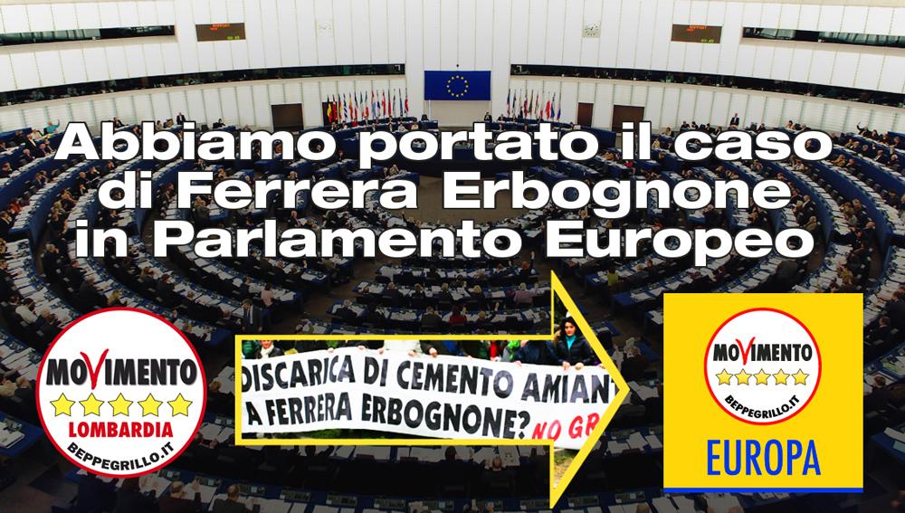 Discarica di amianto di Ferrera Erbognone: M5S Lombardia porta il caso in Parlamento Europeo