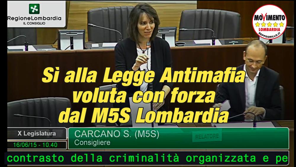 Passa all'unanimità la legge antimafia voluta con forza dal M5S