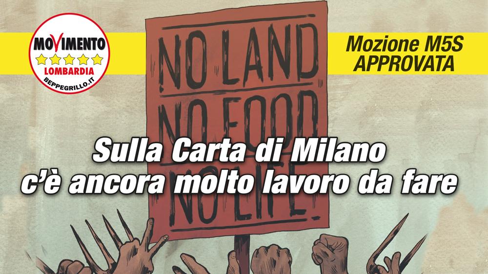 Expo, diritto al cibo per tutti: sì alla mozione di M5S Lombardia!