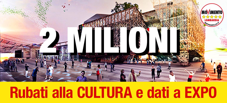 Ancora due milioni di euro in comunicazione e Expo