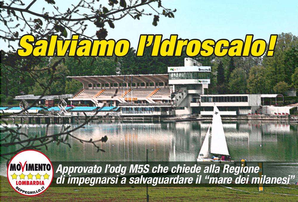 """Salviamo l'Idroscalo di Milano: passa ordine del giorno M5S per salvaguardare il """"mare dei milanesi"""""""