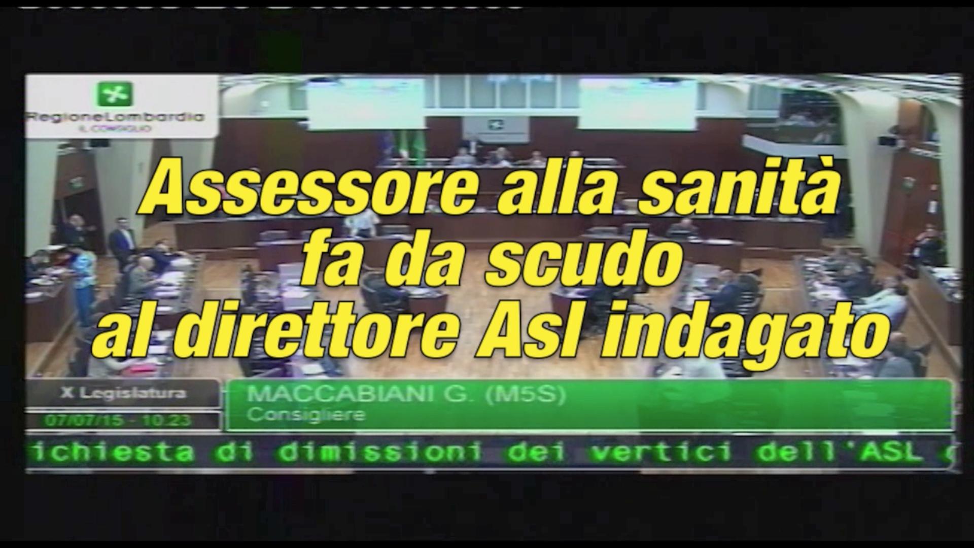 L'assessore alla sanità fa da scudo al direttore dell'ASL di Brescia indagato