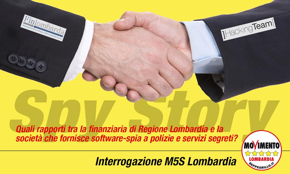 Hacking Team, quali rapporti con Finlombarda? Interrogazione del M5S Lombardia