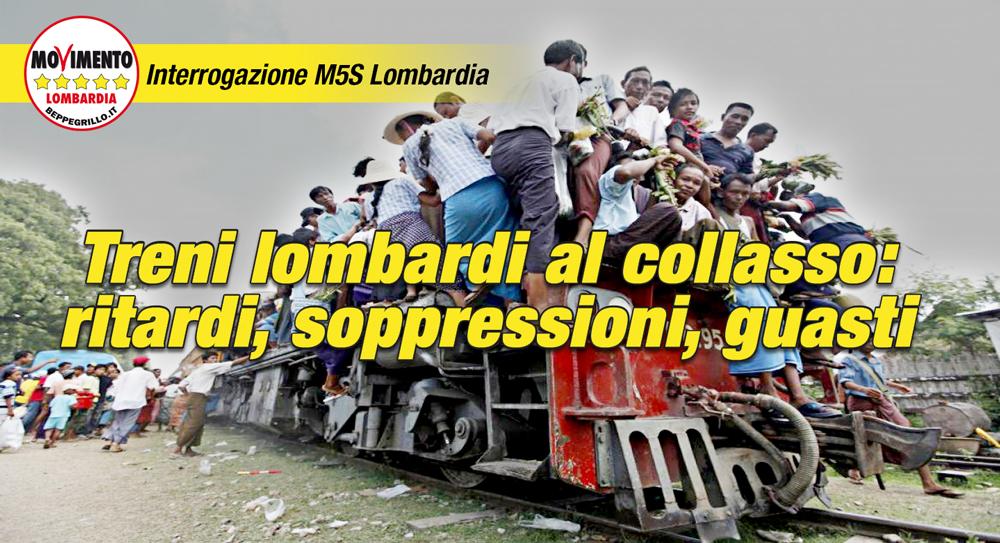 Treni lombardi al collasso: ritardi, soppressioni e guasti