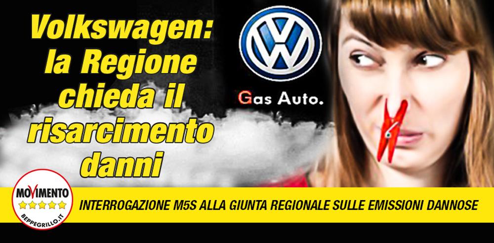 Volkswagen. La Regione Lombardia si è impegnata a richiedere danni