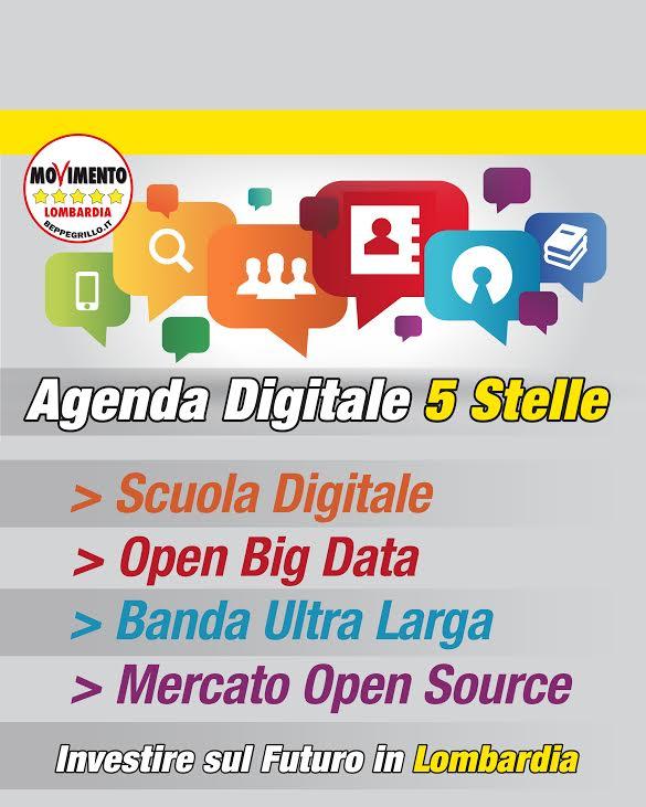 Agenda digitale: il dinosauro Maroni e la proposta del M5S Lombardia