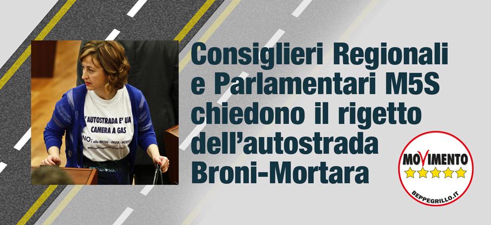 AUTOSTRADA BRONI-MORTARA: I consiglieri regionali e i parlamentari lombardi del M5S chiedono il rigetto integrale del progetto al Ministro Galletti