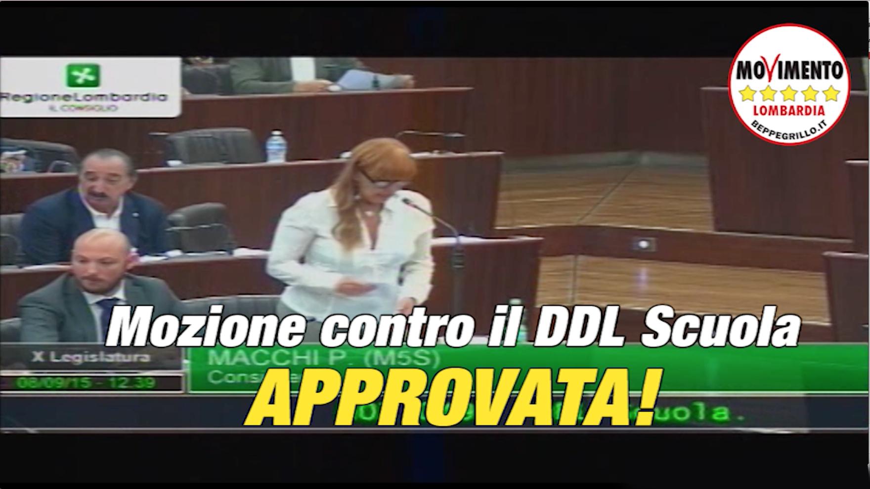 Scuola di Renzi: la Giunta lombarda faccia ricorso