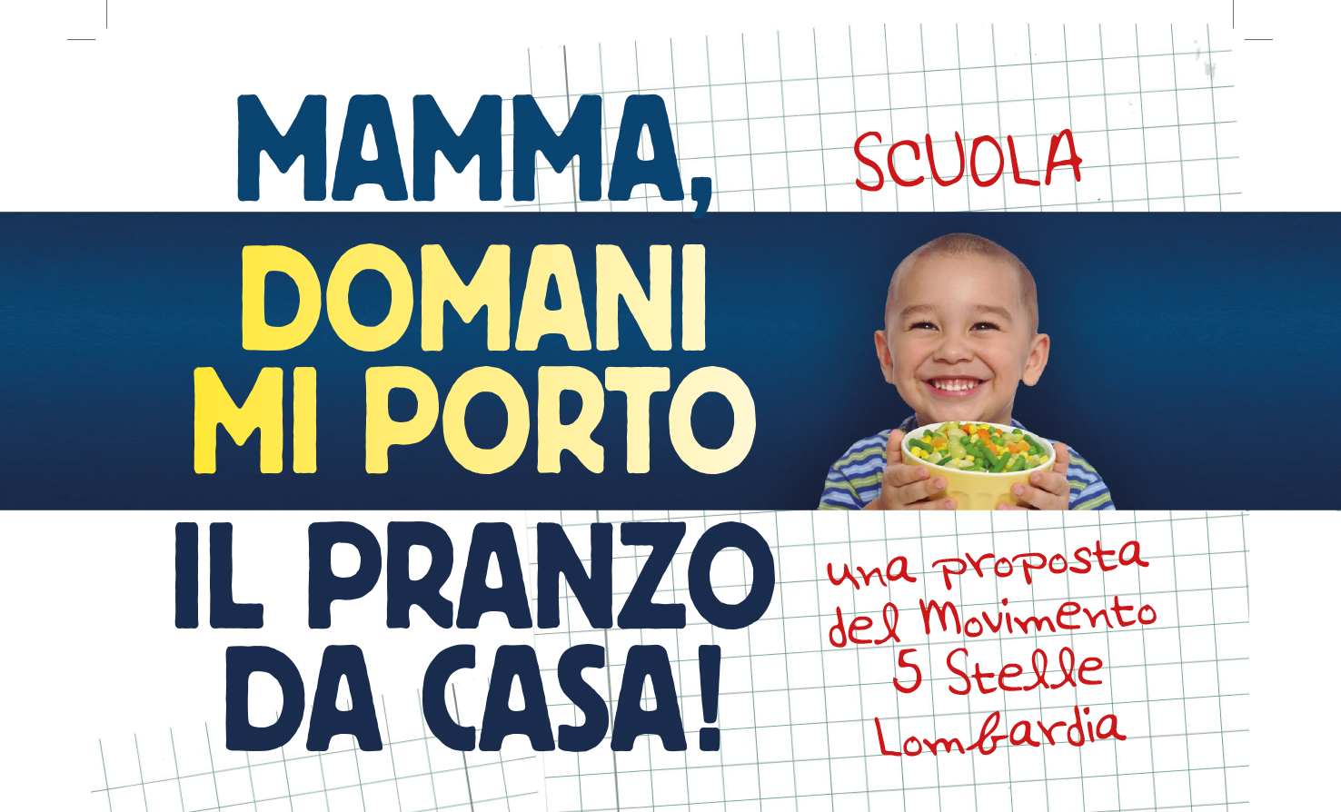 Schiscetta a scuola: approvata la mozione del M5S a Saronno!
