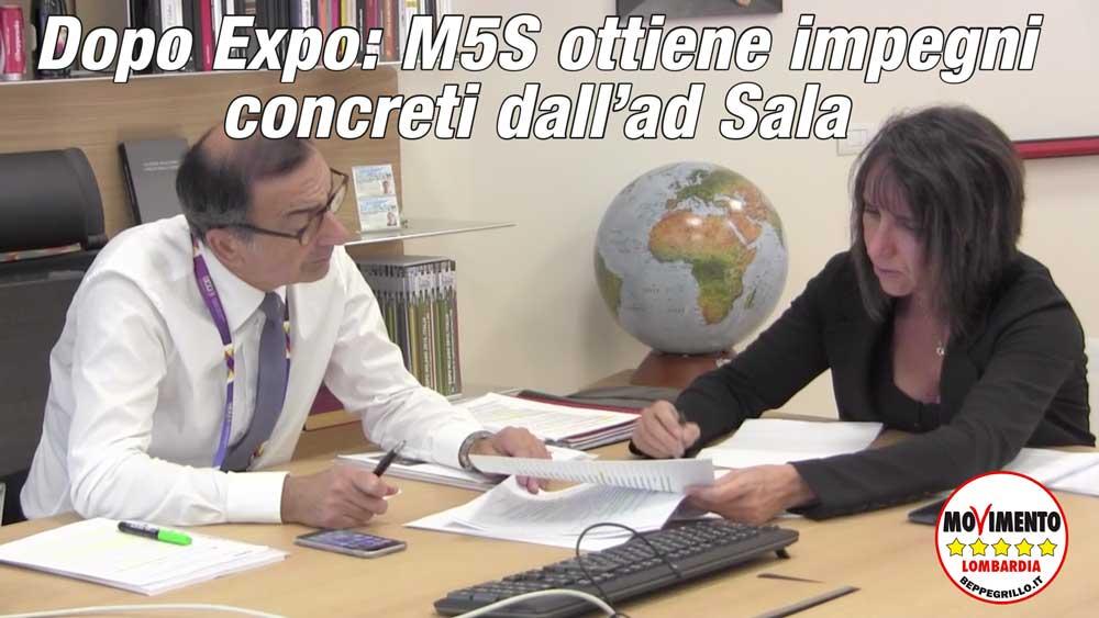 Expo non finisce il 31 ottobre: M5S ottiene impegni concreti da Sala