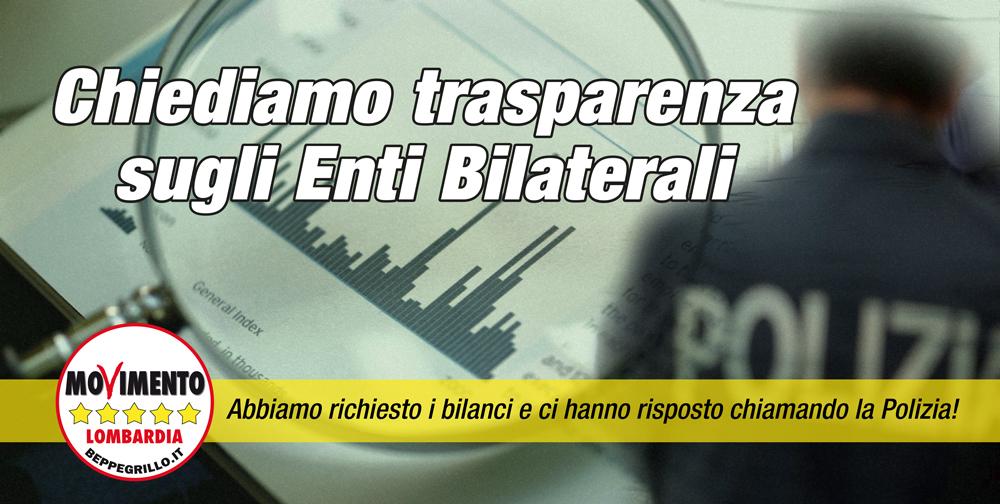 M5S chiede trasparenza agli Enti Bilaterali: nessuna risposta!