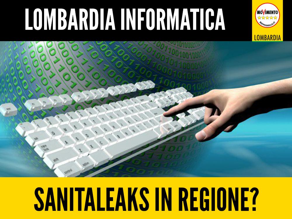 Lombardia Informatica: #sanitaleaks in Regione?