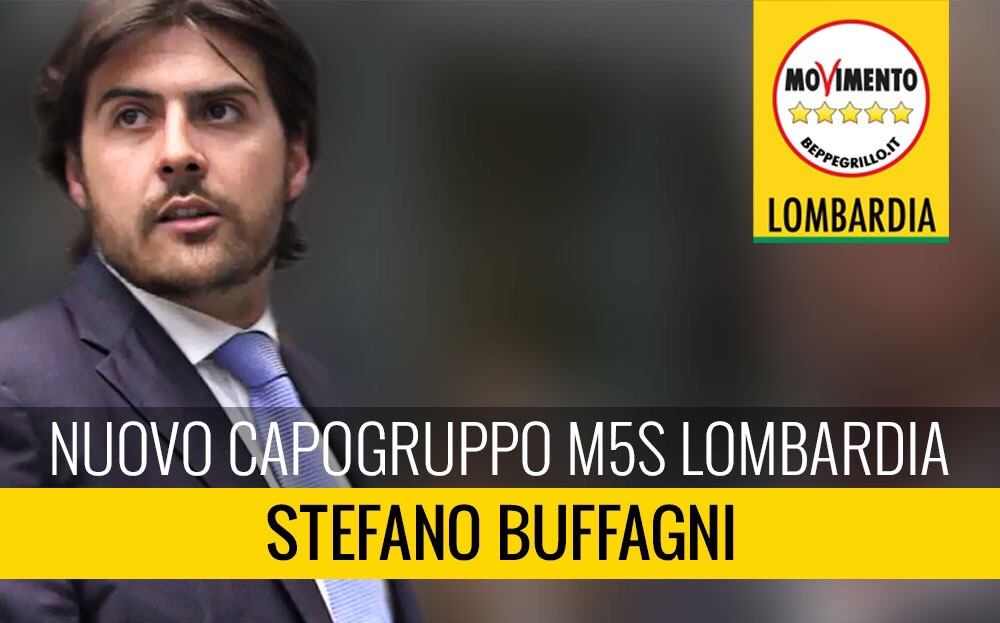 Stefano Buffagni nuovo capogruppo regionale